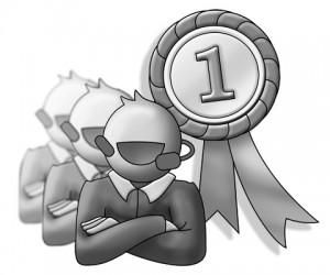 """winning customer service team"""